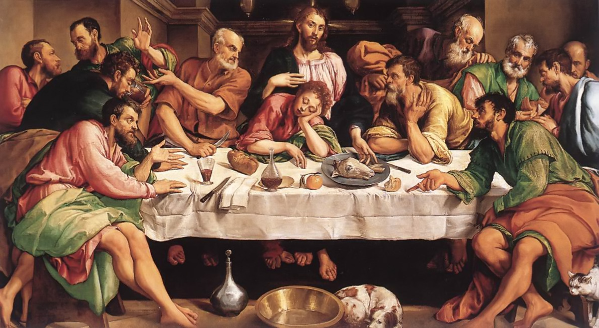 jesus dust jesus last meal a maundy thursday reflection