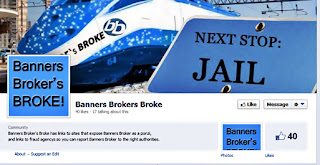 Banners Broker FB scam page