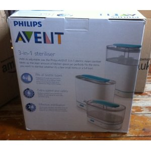 kc dream philips avent 3 in 1 steriliser. Black Bedroom Furniture Sets. Home Design Ideas