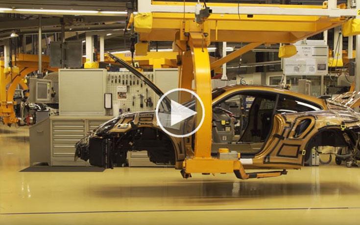 Η διαδικασία παραγωγής μιας Porsche 911 Turbo S (Video)