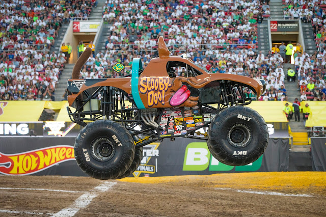 Scooby-Doo driven by Bailey Shea #MonsterJamCLE