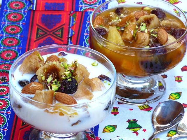 Ägypten Rezept Ramadan Milch Aprikosensaft Kamar el Din
