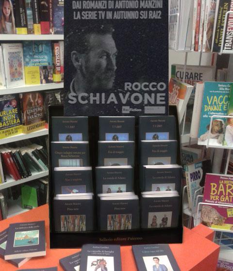 La Libreria Bellisari promuove Manzini, Sellerio