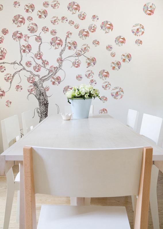 Un arredamento floreale architettura e design a roma for Carta parati prezzi
