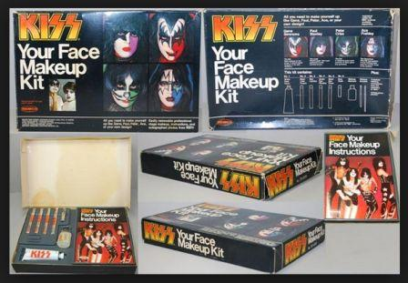 Kiss Face Paint Kit