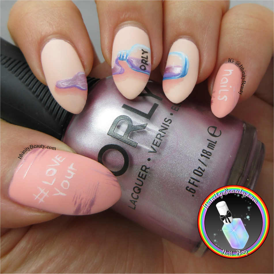Love Your Nails - Orly Nail Polish Bottle Nail Art | IthinityBeauty ...