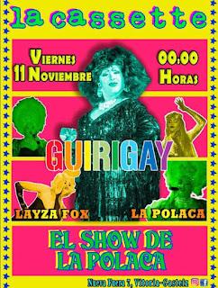LA CASSETTE, Vitoria-Gasteiz, gay party, Guirigay, fiesta gay de invierno, gaymen, euskadi, pais vasco, marica,