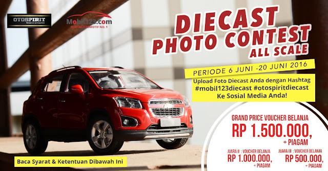 """Lomba Foto Diecast Photo Contest"""" mulai 6 Juni - 20 Juni 2016"""