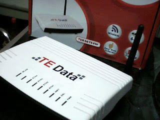 تحويل راوتر te-data او اتصالات او موبينيل او فودافون الى واى فاى وسيوتش