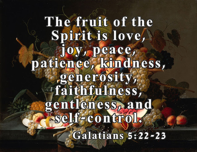 Galatians 5 - 22 & 23A