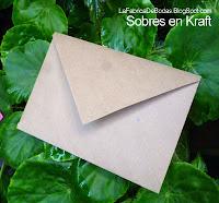 Sobre  para boda en papel Karaft reciclado boda rustica guatemala