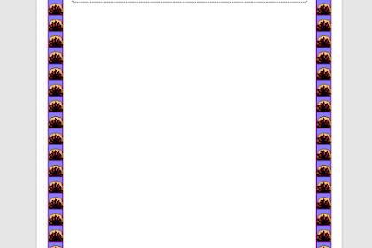 Cara Memasang Bingkai Pada Microsoft Word