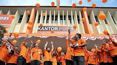 Lowongan Kerja Jobs : Pengantar Surat (Postman) Membutuhkan Tenaga Baru Besar-Besaran Seluruh Indonesia