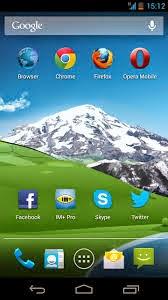 Screenshot Android Smartphone