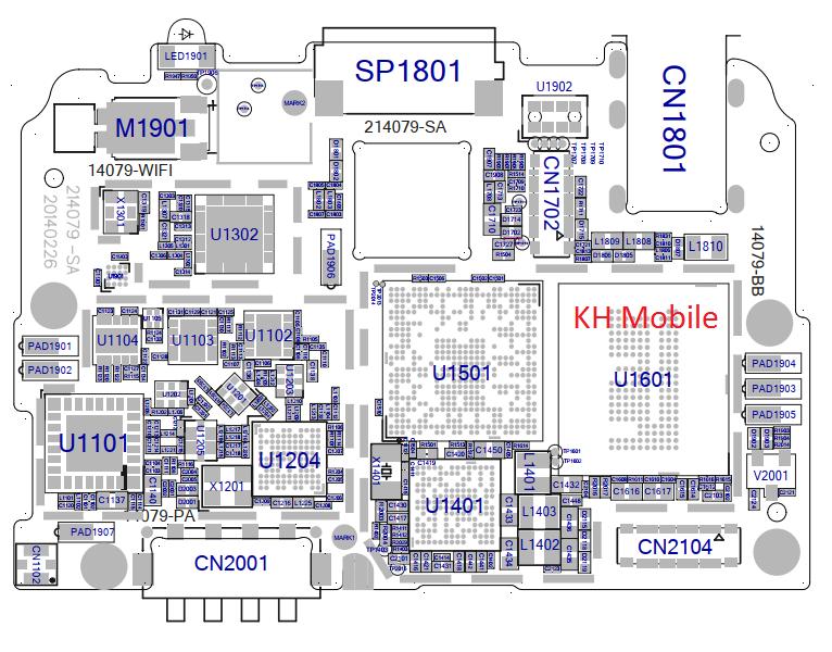 Oppo R831k Schematic  U0026 Layout Diagrams