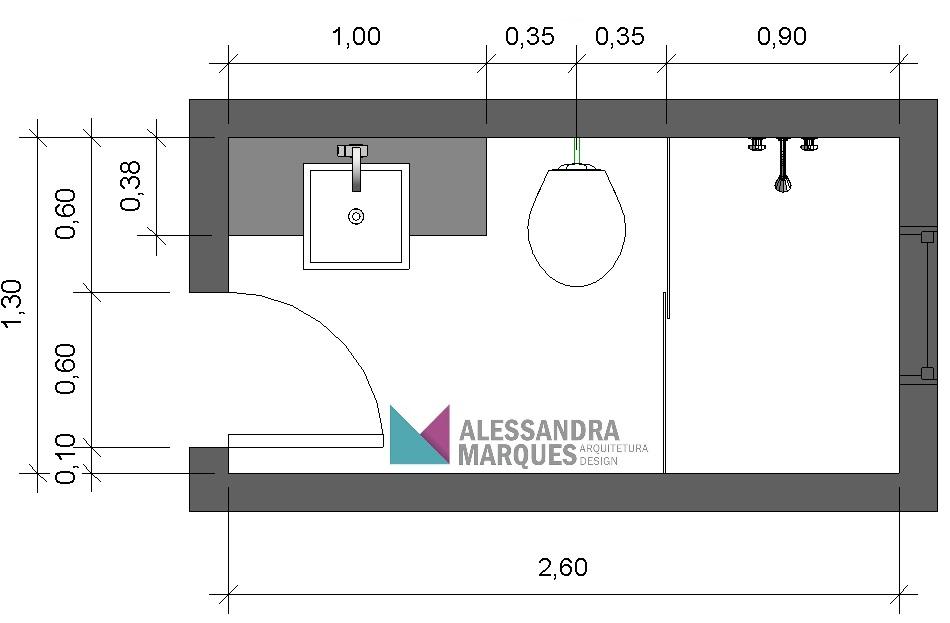 Construindo um Castelinho Medidas básicas para um banheiro confortável -> Medidas Para Um Banheiro Com Banheira