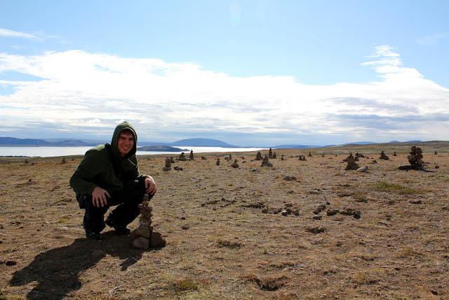 Alberto en el mirador del lago Þingvallavatn