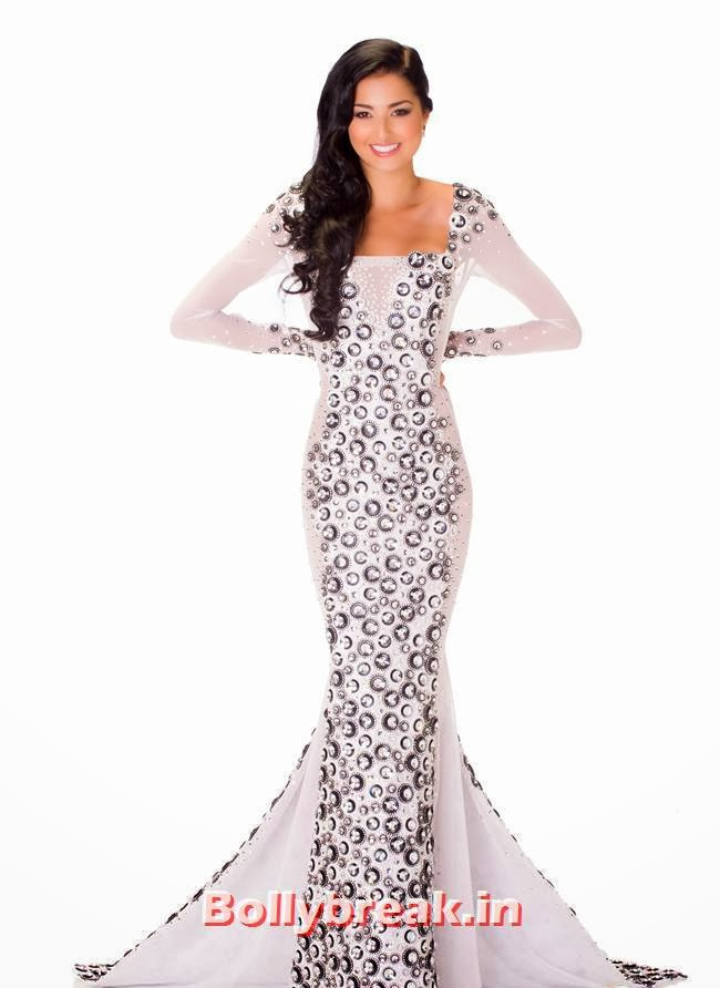 Miss Curacao, Miss Universe 2013 Evening Gowns Pics