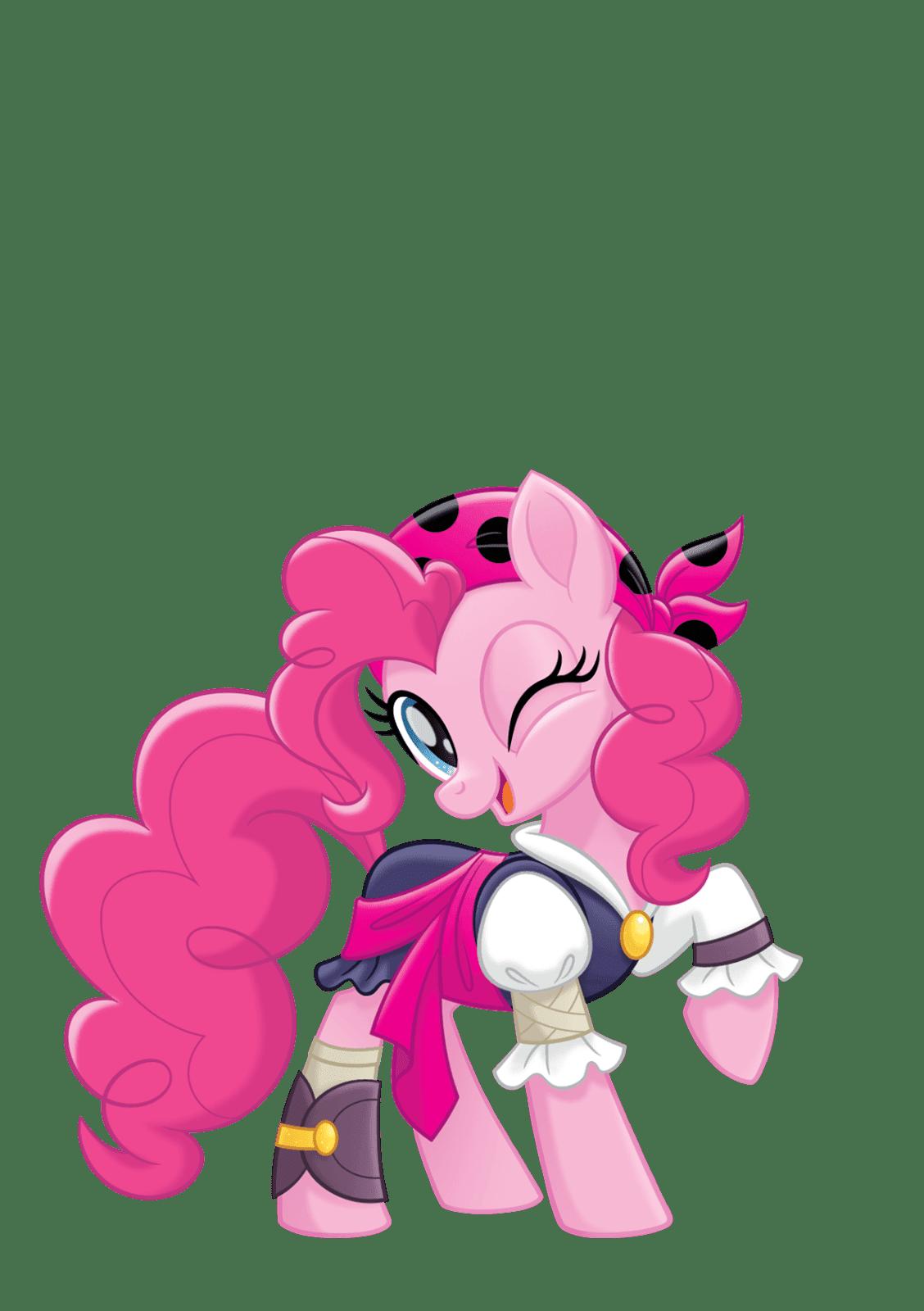 MLP Movie Vector Pirate Pinkie Pie