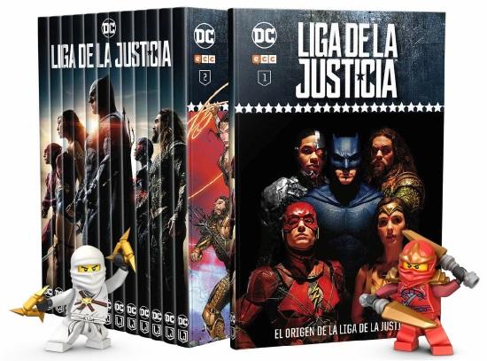 Novedades ECC Ediciones: Lego y Coleccionable Liga de la Justicia