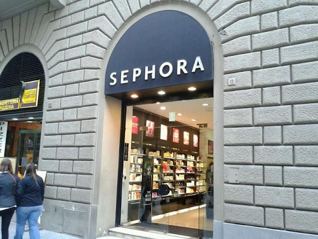 Loja da Sephora em Florença
