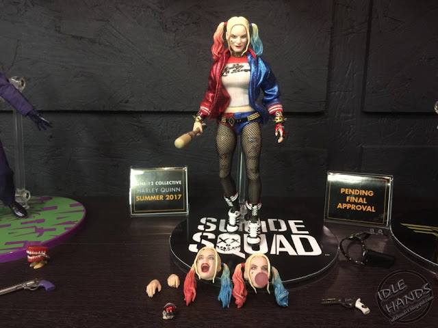 Toy Fair 2017 Mezco One:12 Collective DC Comics Suicide Squad Harley Quinn