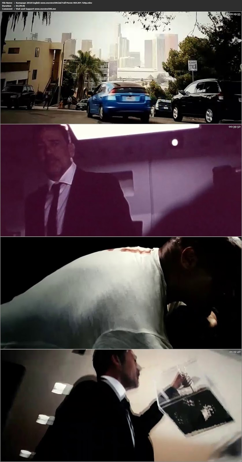 RAMPAGE 2018 English Movie HD Full CAM 720p at movies500.bid