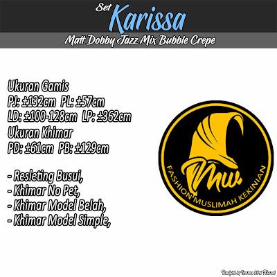 Gamis Set Doby Jazz Mix Diamond Crepe Khimar Model Simple