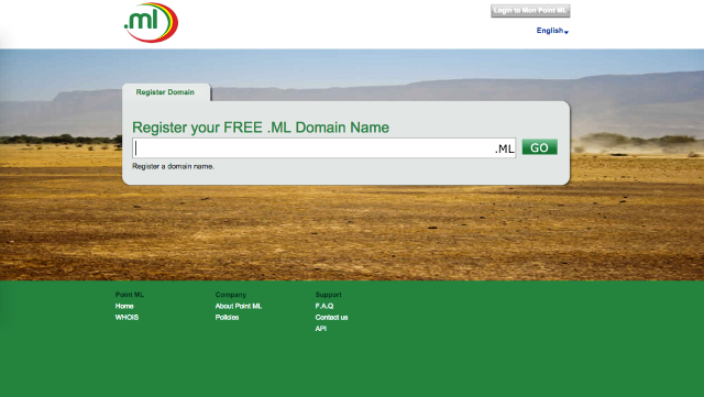 domain gratis .ml
