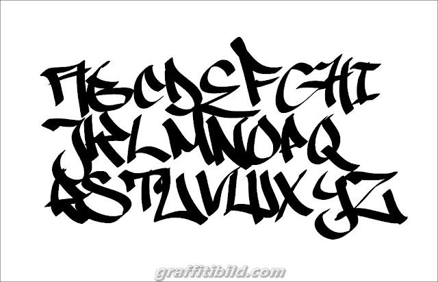 Graffiti Tag Fonts, graffiti tags ideas, alphabet, letters