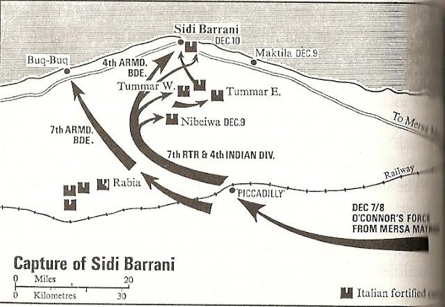 9 December 1940 worldwartwo.filminspector.com Operation Compass map