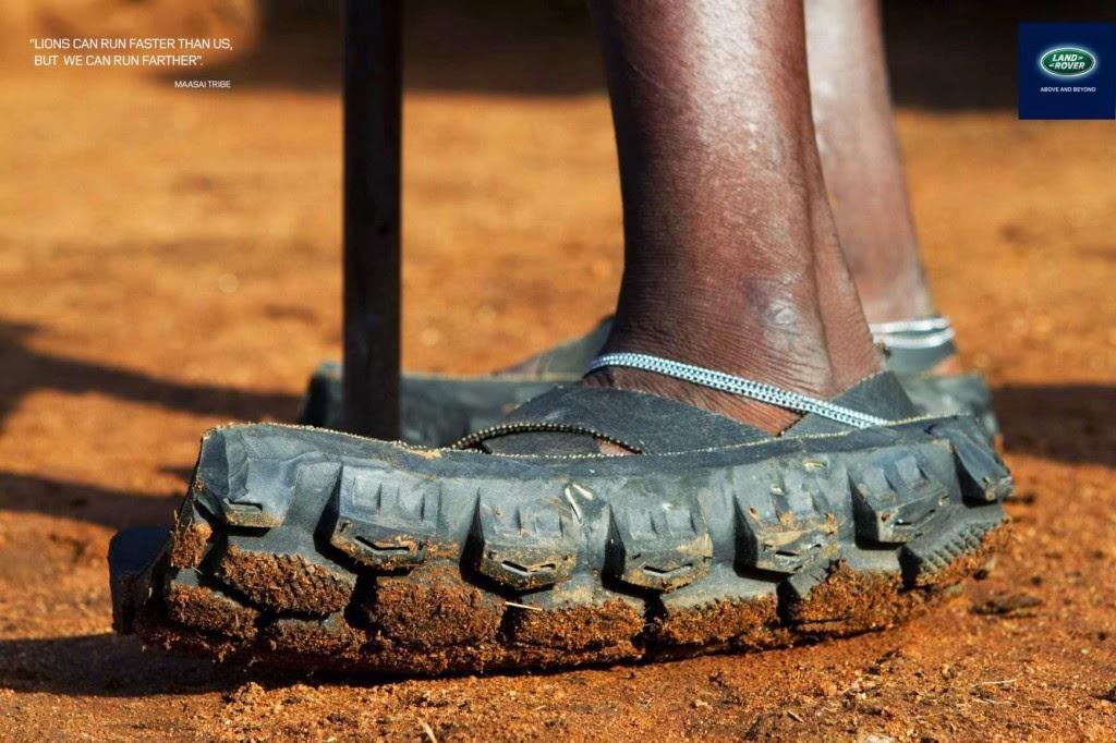 zapatos de llanta