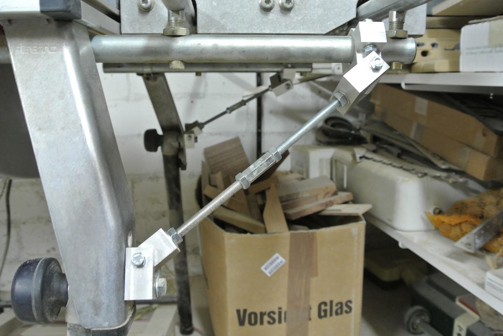 Goede Stabilität für den Festo / Festool Schiebetisch ST1120 am Basis FZ-07