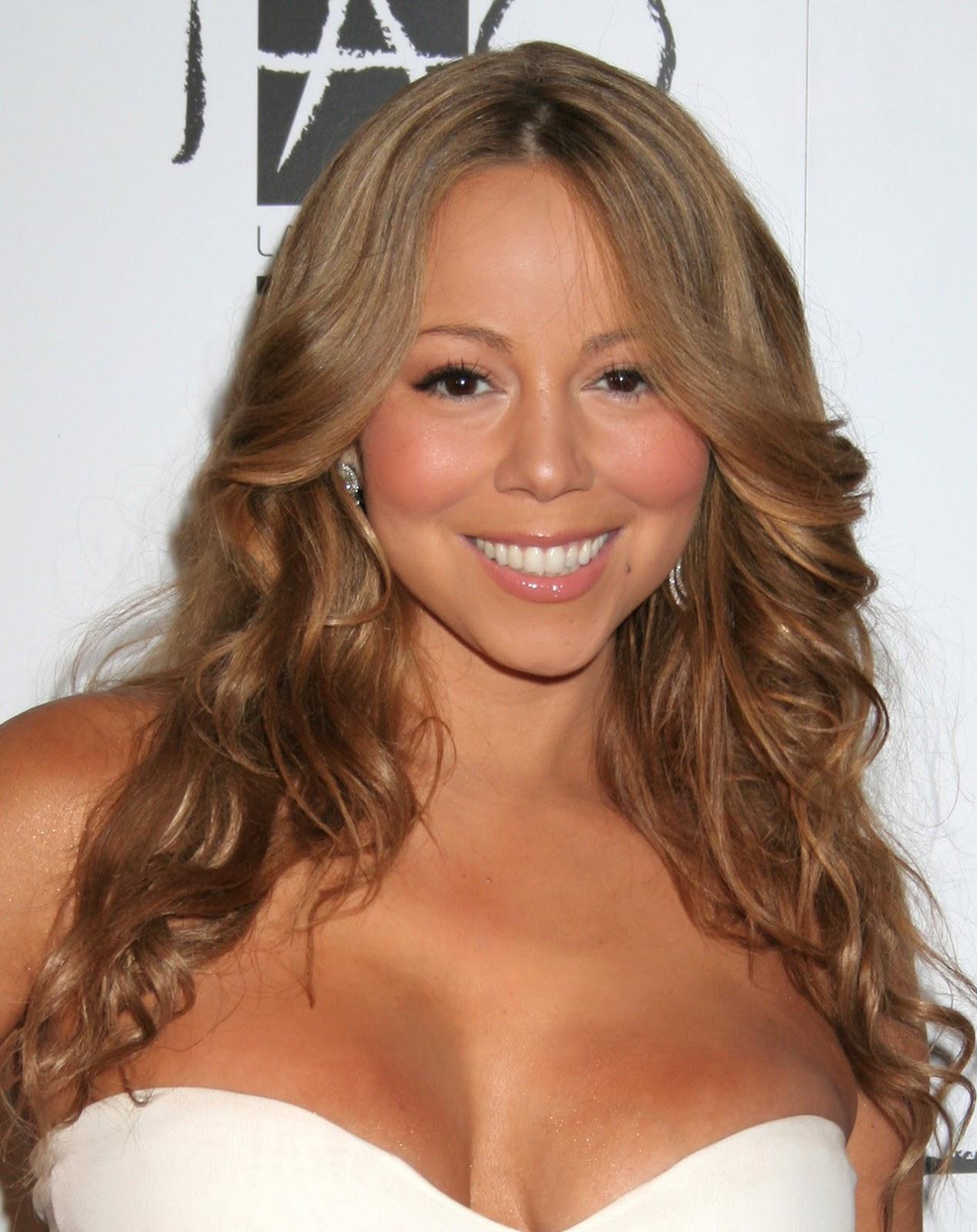 Mariah Carey Mariah Carey Cleavage Pics-9814