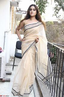 Sony Charishta in Brown saree Cute Beauty   IMG 3587 1600x1067.JPG