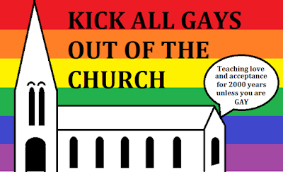 Kick all Gays out of the Church
