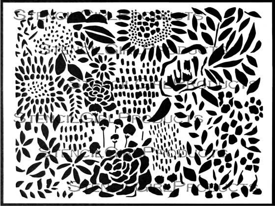 StencilGirl Talk: Frolic with flowers, send jack-o-lanterns
