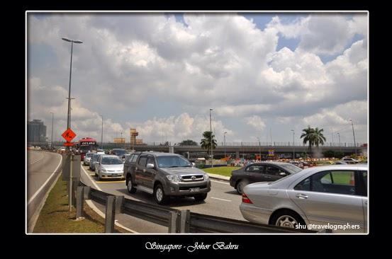 melintasi perbatasan singapura ke malaysia, woodsland, causebay, johor bahru, larkin, MRT, imigrasi, cross border