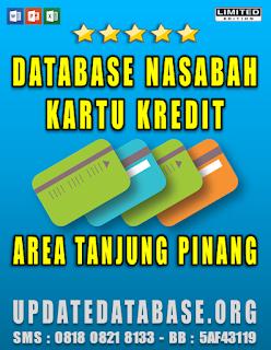 Jual Database Nasabah Kartu Kredit Tanjung Pinang