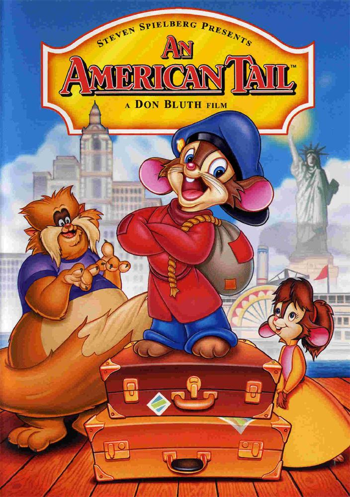 Film poster An American Tail animatedfilmreviews.filminspector.com
