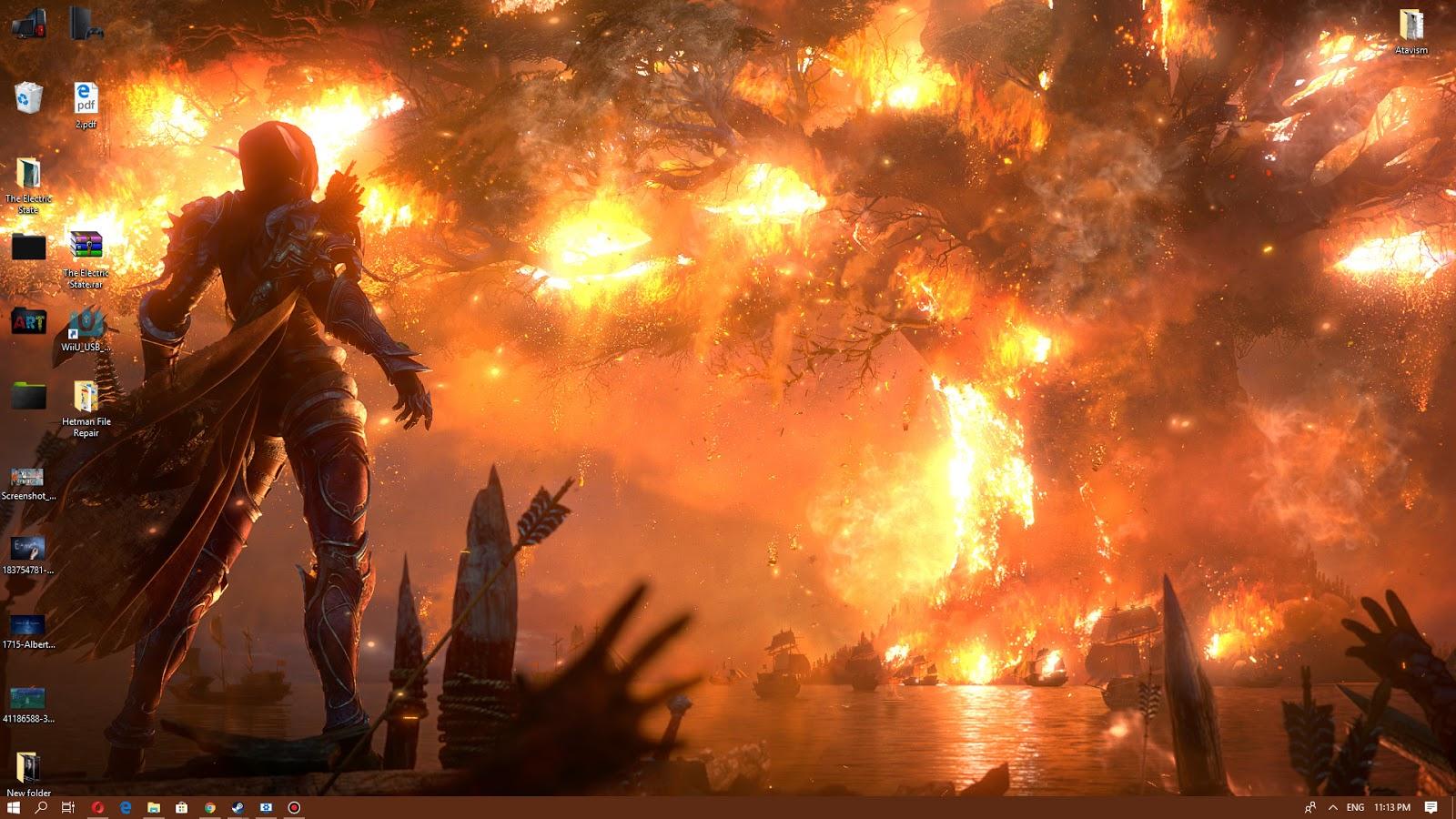 Anime 4k Wallpaper: Wallpaper Engine 4k World Of Warcraft Battle For Azeroth