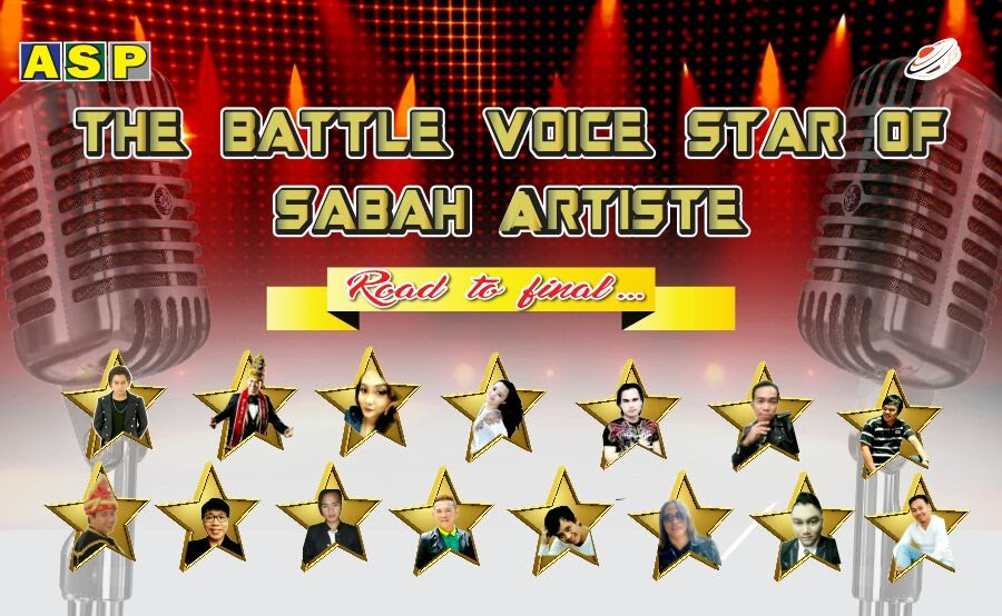 Semi-final The Battle Voice of Sabah Artiste