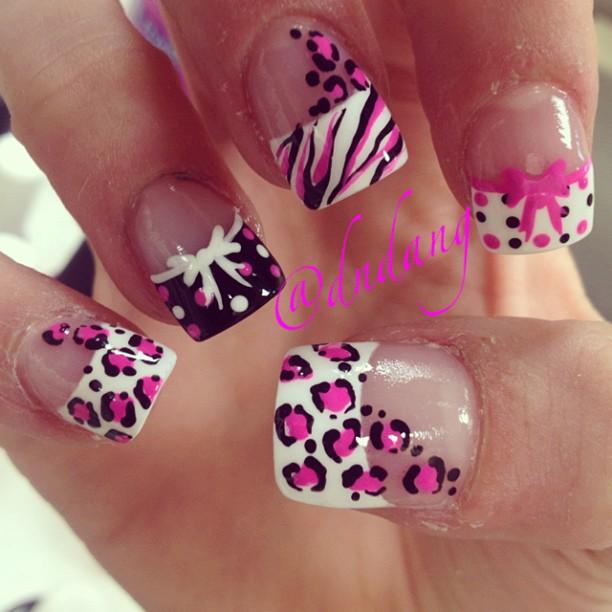 15 Diseños De Uñas Leopardo ε Diseños De Uñas Decoradas з