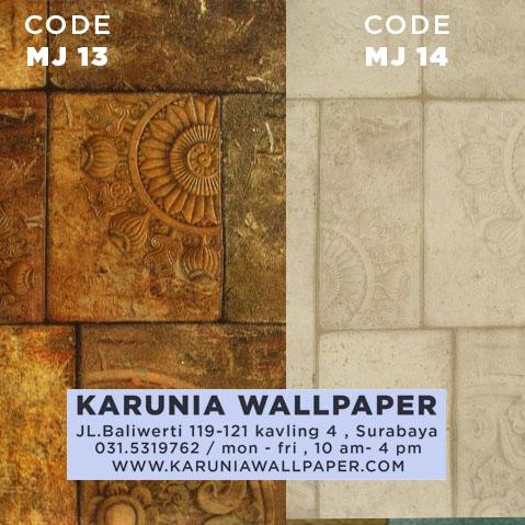 jual wallpaper batu alam 3 dimensi