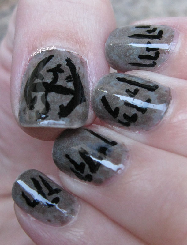 Nails Skyrim : nails, skyrim, Nerdy, Nails:, Laid-Back, Inspired, Skyrim, Edition
