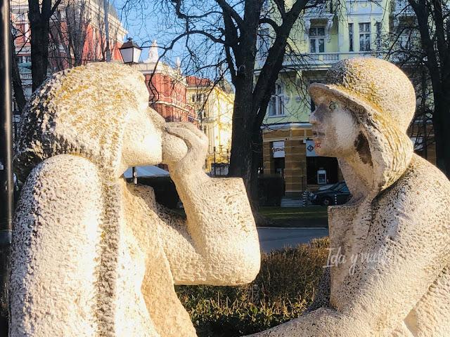Estatuas en el Jardín de la Ciudad
