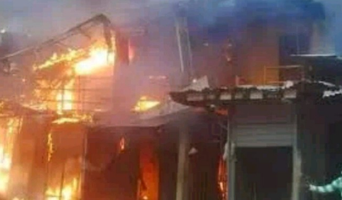 Road Litters With Tears As Four Siblings Burnt To Death In Delta
