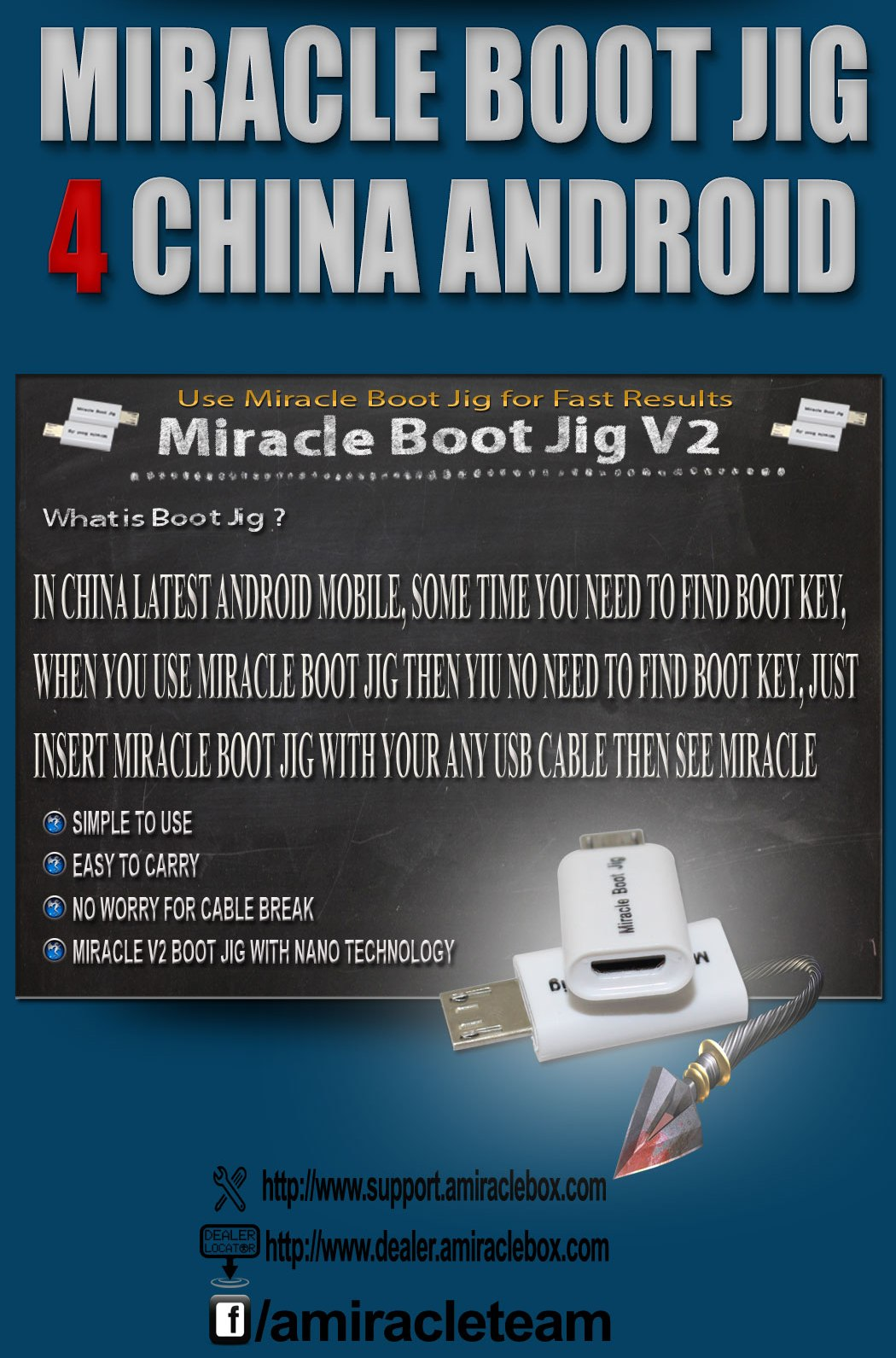 How to make miracle boot key