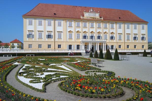 basse-autriche schloss hof château jardins baroques
