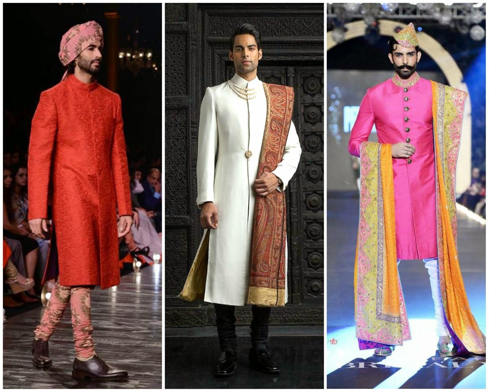 Latest Solid colour sherwani, designer wedding sherwani, colour of fashion sherwani